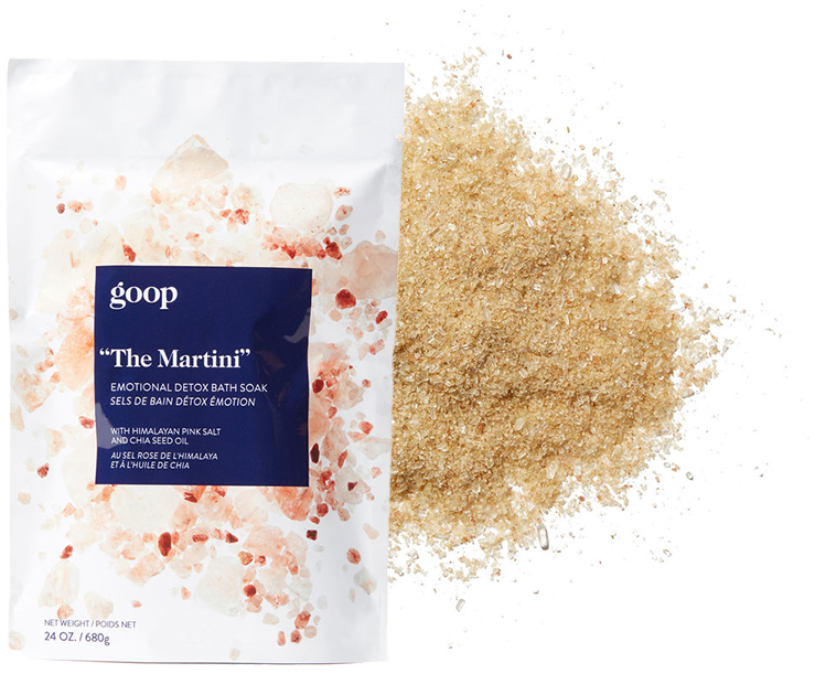 goop Body The Martini Emotional Detox Bath Soak