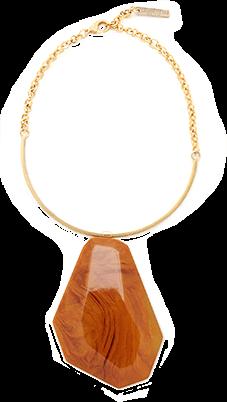 Lafayette 148 Large Stone Statement Necklace