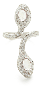 Colette Jewelry Double Headed Snake Ring