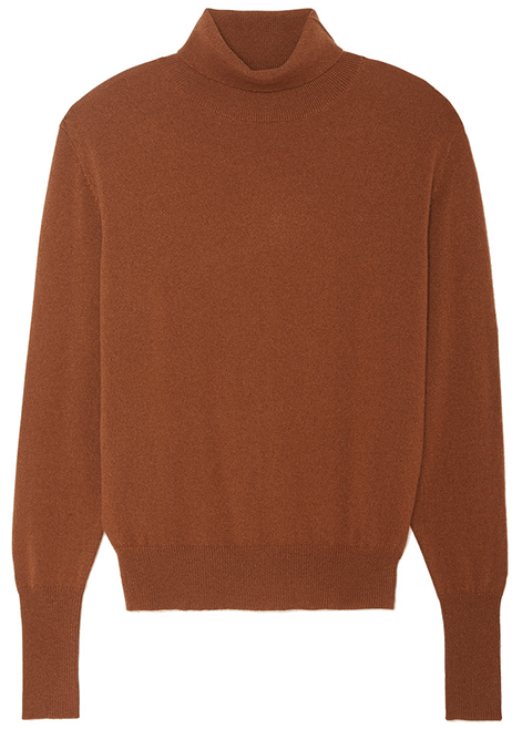 Nili Lotan Ralphie Turtleneck Cashmere Sweater
