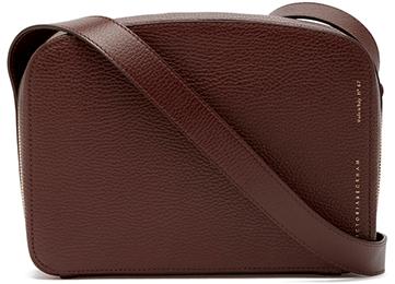 Victoria Beckham Camera Suede Crossbody Bag