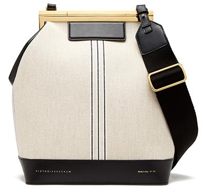 Victoria Beckham Frame Bucket Bag