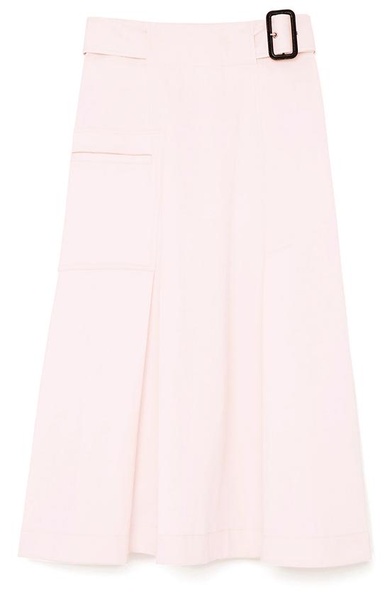 G. Label Nimi A-Line Midi Cargo Skirt