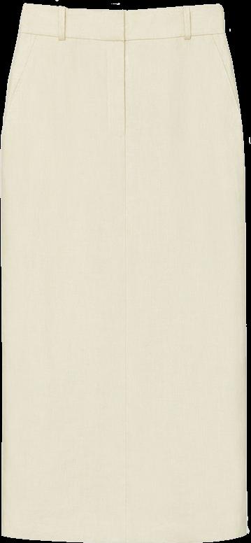 Lafayette 148 Vanguard Linen Milani Skirt