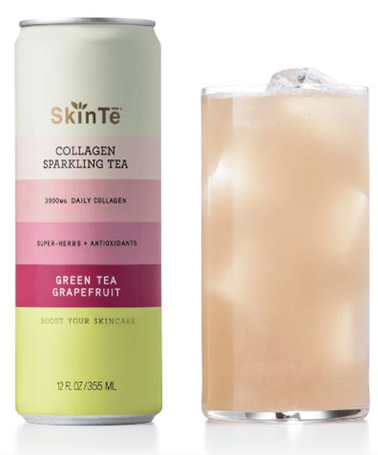 SkinTē Collagen Sparkling Tea