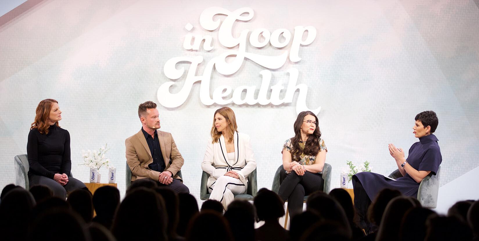 In Goop Health Talks
