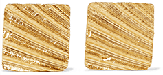 1064 Studio Gold-plated earrings