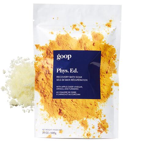 goop Beauty Phys. Ed. Recovery Bath Soak