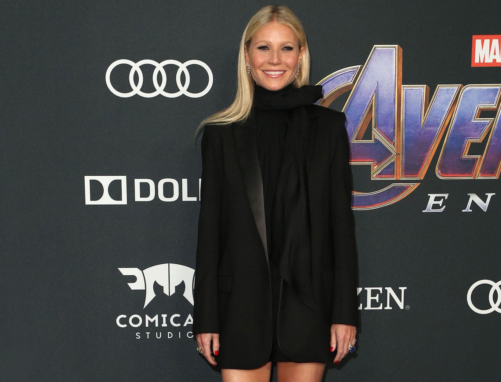 Gwyneth Paltrow's Avengers Premiere Look