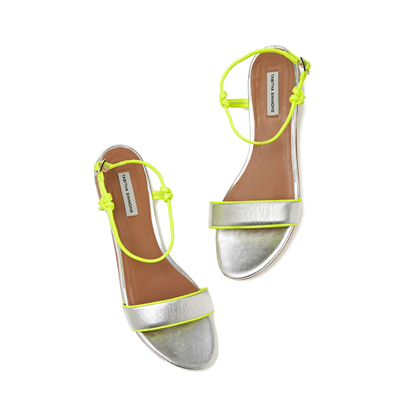 Tabitha Simmons Bungee Flat Sandals