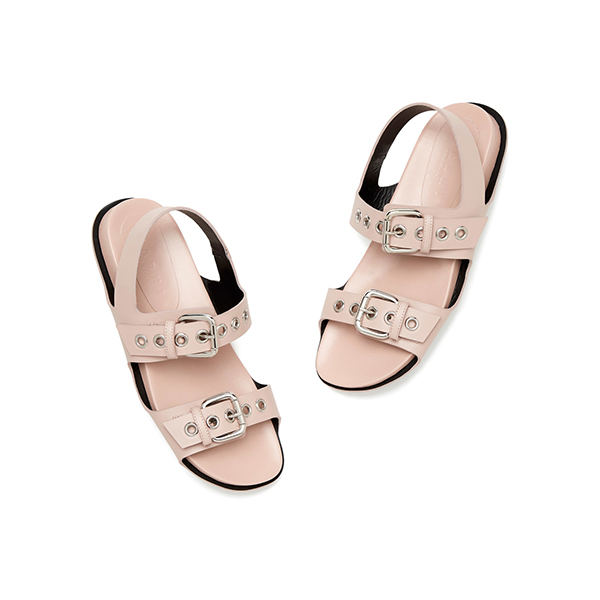marni pink buckle sandals