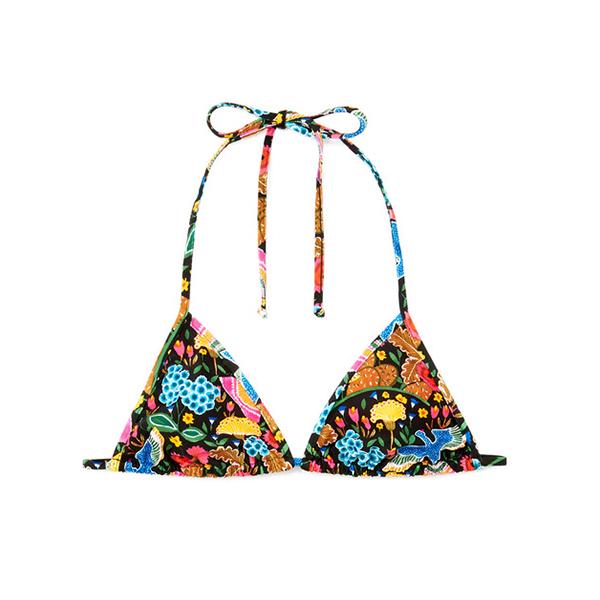 La DoubleJ Triangle Bikini Top