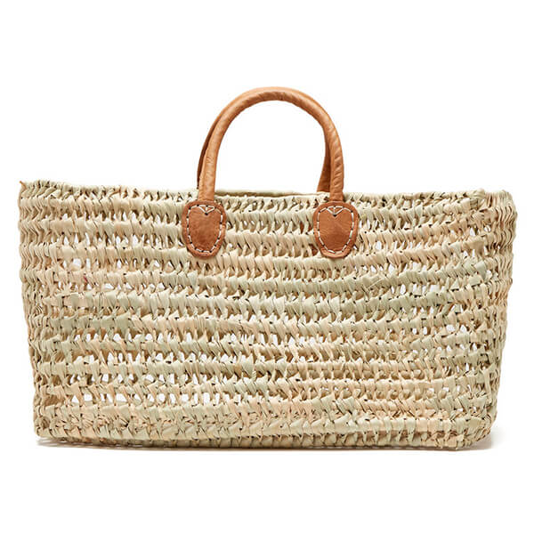 Medina Mercantile Simple Open Weave Basket