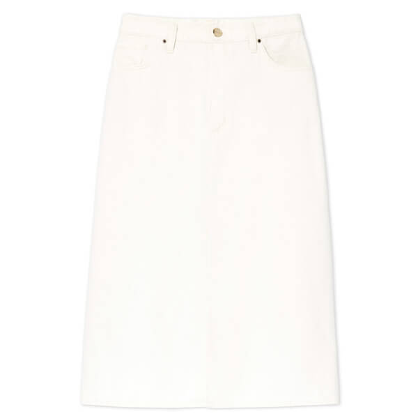 goldsign white skirt