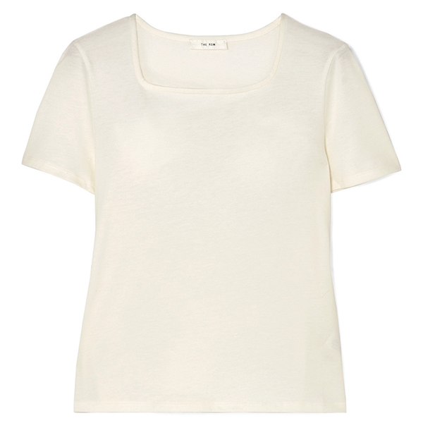 Jackie cotton  cashmere-blend T-Shirt