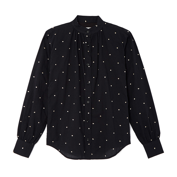 Officine Generale Nicole Polka Dot Shirt