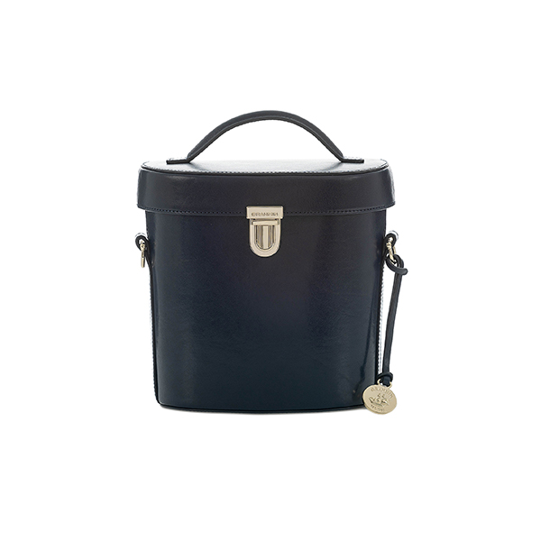 brahmin Black Melbourne Large Duxbury Satchel bag