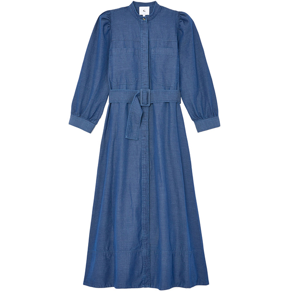 G. Label sharis chambray dress
