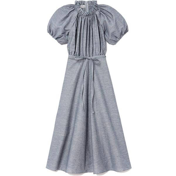 co linen midi dress