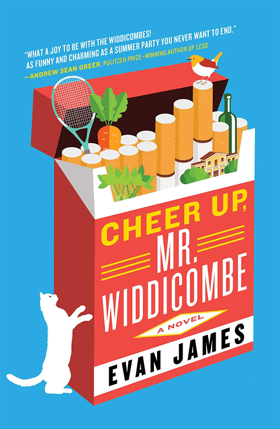 CHEER UP, MR. WIDDICOMBE by Evan James