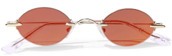 Christopher Kane Round Frame Sunglasses