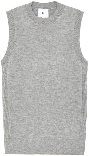 G. Label YUN KNIT SHELL TOP