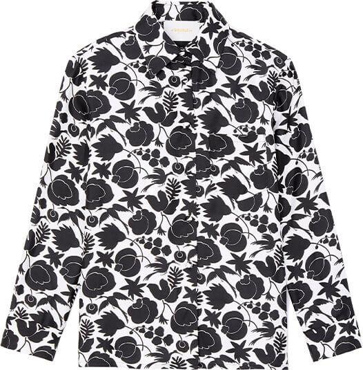 goop x La DoubleJ Boy Shirt Silk