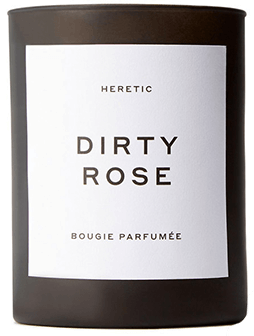 HERETIC Dirty Rose Candle