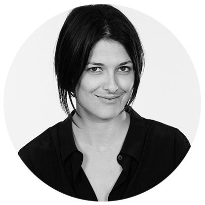 Alyssa Nelsen Black and White Headshot