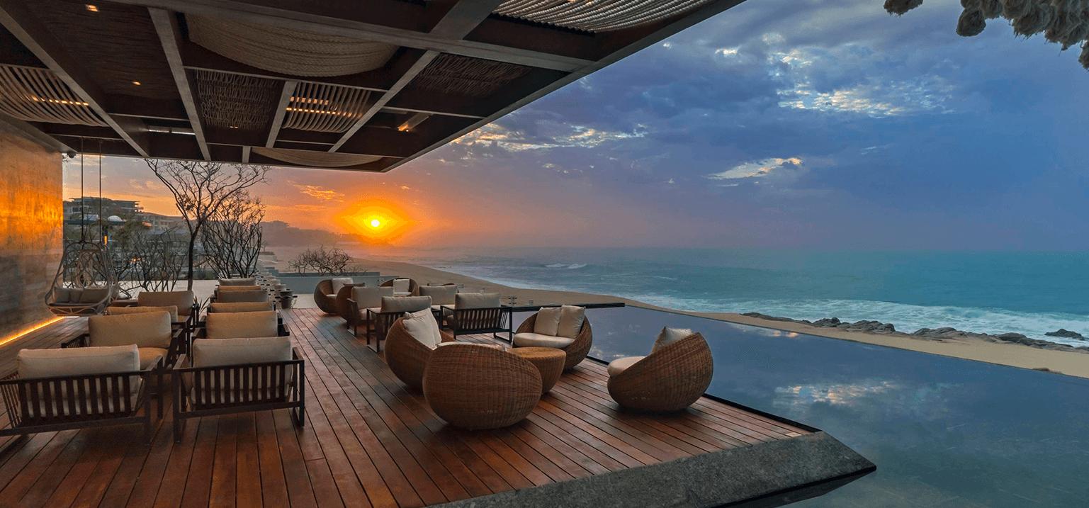 Sunset at the SOLAZ Resort