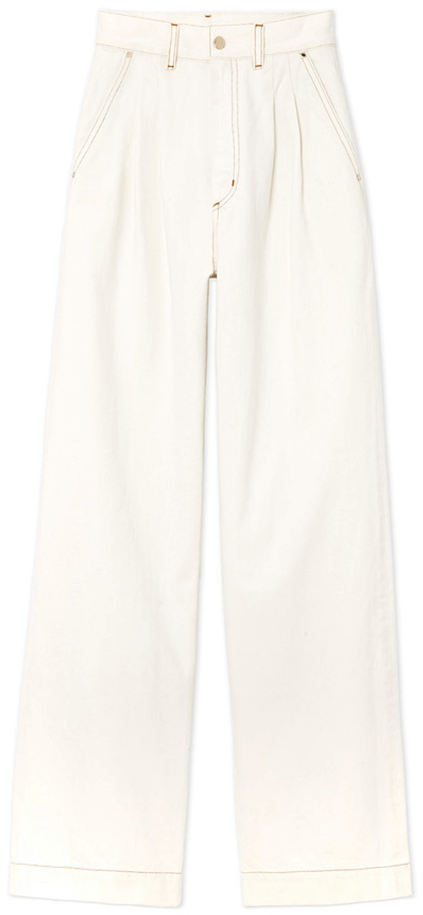 goldsign white trouser
