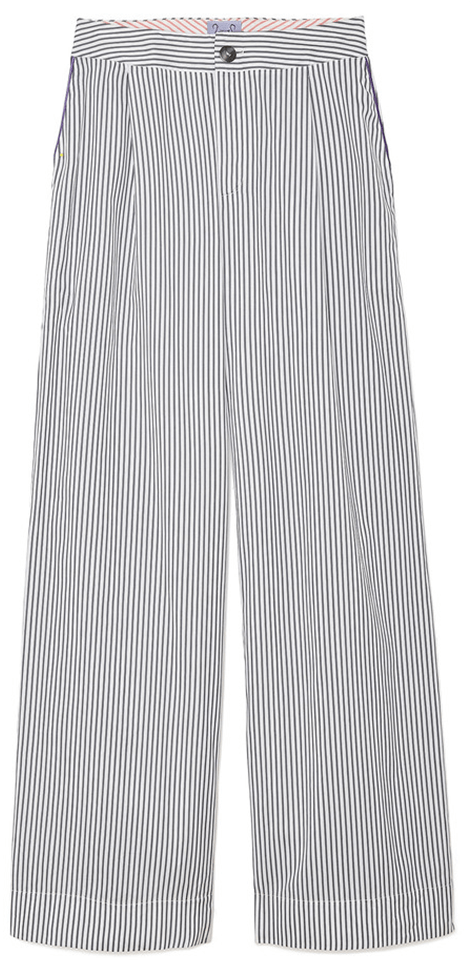 thierry colson striped pants