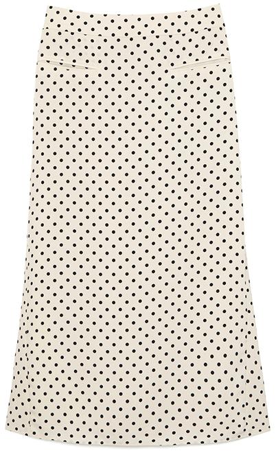Rejina Pyo Mina Polka-Dot Skirt