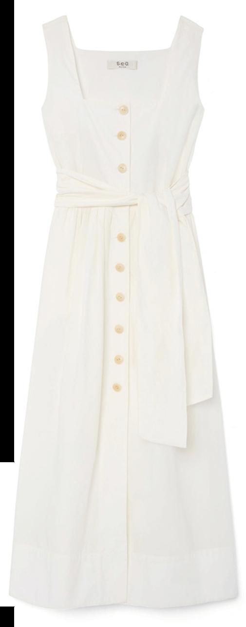 sea white dress