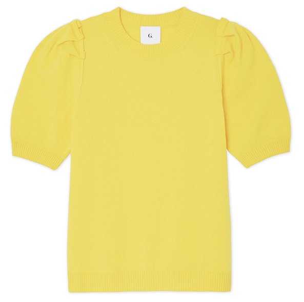 G.Label Short sleeve Puff Sweater