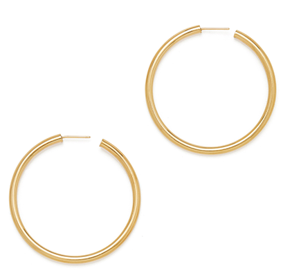 Natahsa Yellow-Gold Hoops