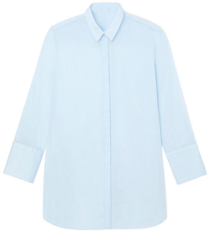 Miné Mediterranean blue shirt