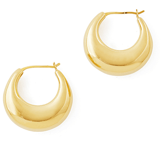 Sophi Buhai Gold Classic Cowbell Hoops