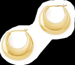 Sophi Buhai Gold Classic Cowbell Hoops