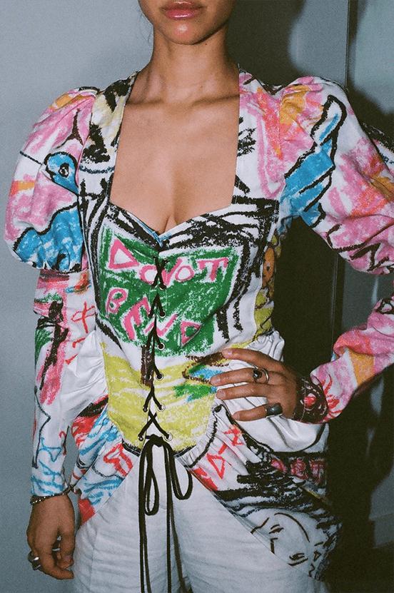 Poena Excess Vivienne Westwood Bootleg Top