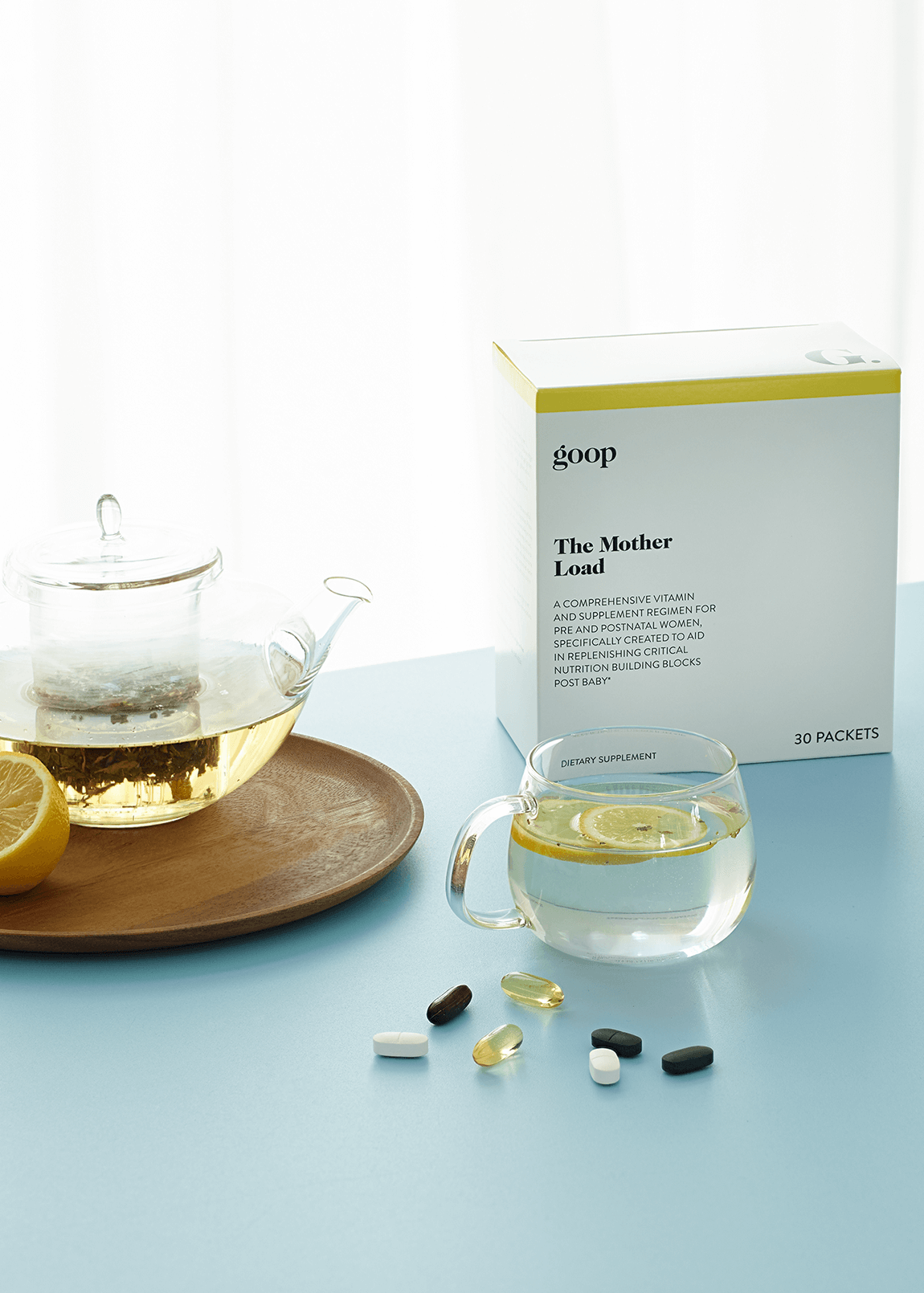 The mother load goop Wellness Vitamin Subscription