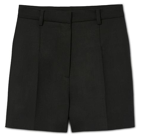 G. Label Tuxedo Shorts