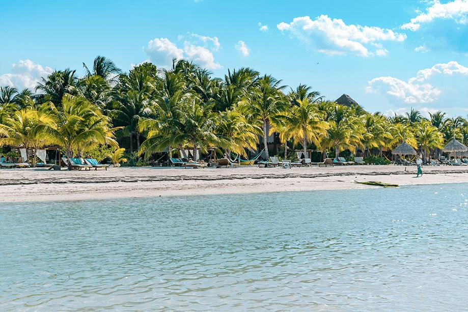 Beach at Holbox