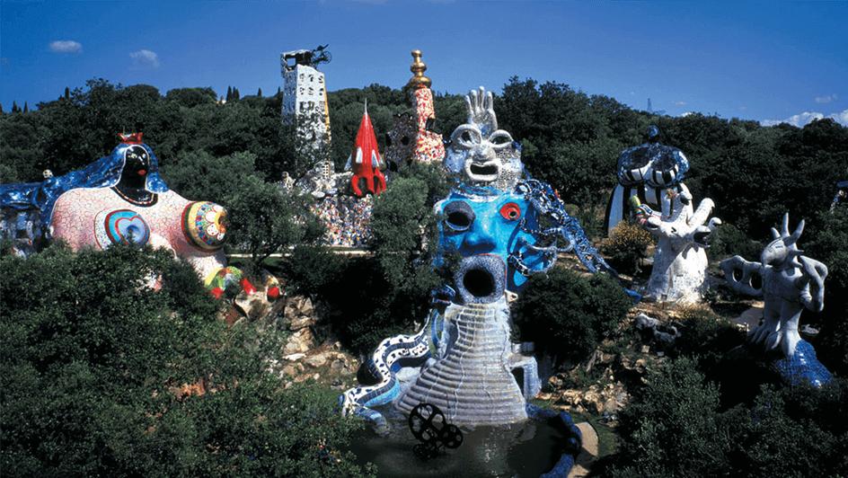 Tarot Garden Niki de Saint Phalle