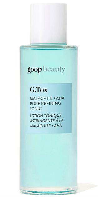 goop BeautyG.TOX MALACHITE + AHA PORE REFINING TONIC