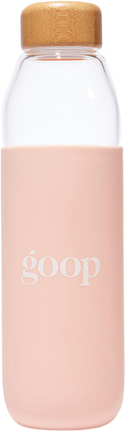 GOOP GLASS WATER BOTTLE