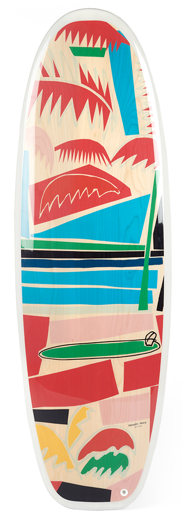 Hermes Surfboard and Wax