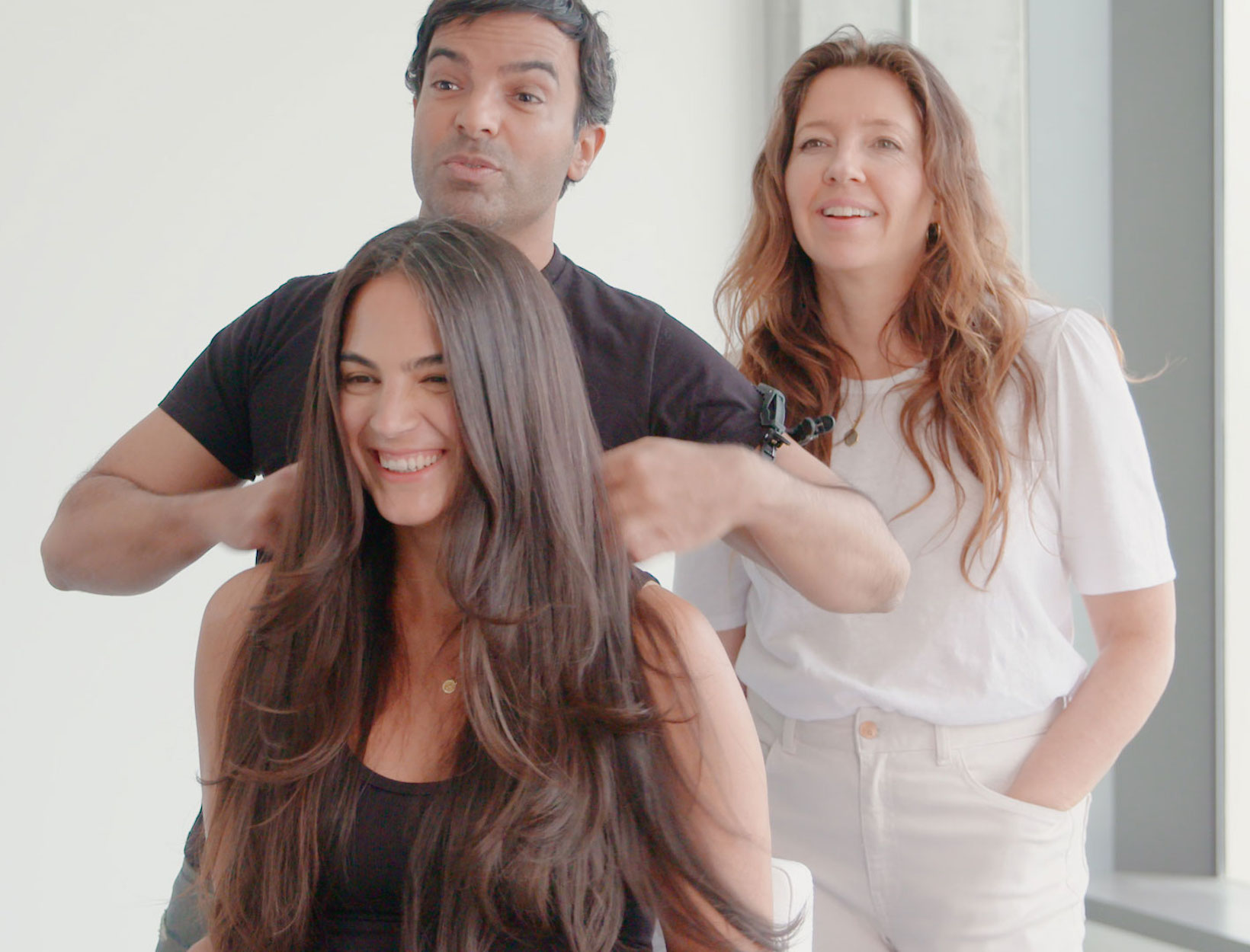 How To Get A Perfect At Home Blowout Step By Step Goop