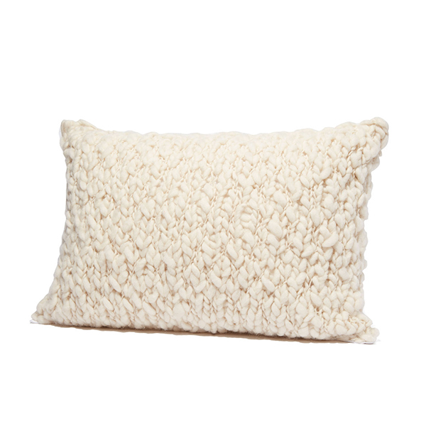 Andes Hand Knit Pillow