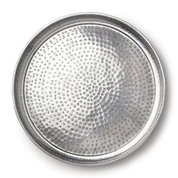 Summerill & Bishop Round Aluminum Coffee Tray